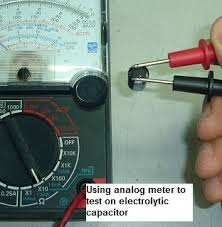 how to test a capacitor testing