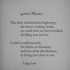 Long Distance Quotes Gorgeous Distance Quotes