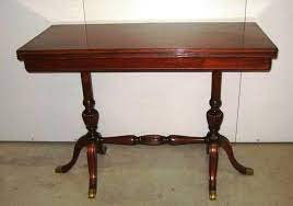 antique solid mahogany english coffee