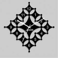 diamond art wall clock design lasercraft