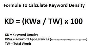 keyword density analysis