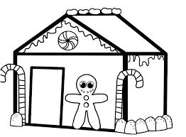 Beautiful Gingerbread House Coloring Page Pages Disney Zombies