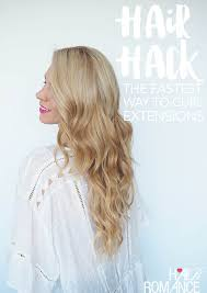 Hair Hack The Fastest Way To Curl Hair Extensions Hair