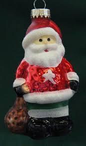 Christbaumschmuck Weihnachtsmann Figuren Aus Glas Anhänger Baumschmuck
