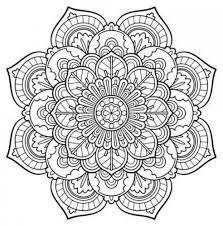 Snowflake Mandala Coloring Pages Engaging Free Printable Mandalas 18
