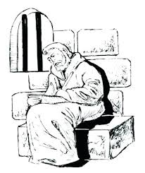 Paul And Silas Coloring Page Acts Apostle Pages Singing In Prison