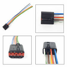 ford window switch plug extension wiring harness loom 7 pin ford window switch plug extension wiring harness loom 7 pin connector