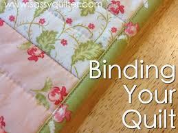So You Wanna Make A Quilt...Part 8- Binding Your Quilt - The Sassy ... & Part 8- Binding Your Quilt - The Sassy Quilter Adamdwight.com