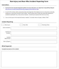 Form For Accident Incident Report 12 Incident Report Forms Word Pdf Pages Free Premium Templates