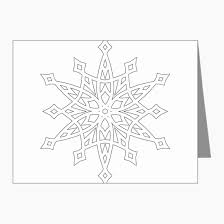 Snowflake Thank You Cards Lovely Snowflake Thank You Cards