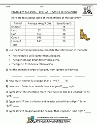 7thde Math Word Problems Worksheets With Answers Pdf Ratio ...