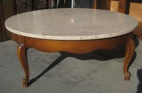 big round coffee table tables thippo w side marble cocktail how should a be glass