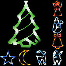 Weihnachts Fensterschmuck Tannenbaum Kunststoff Günstig