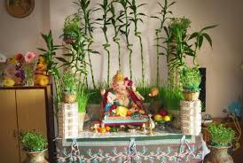 chaturthi decoration ideas for home
