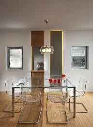 acrylic dining room chairs. United States Clear Acrylic Dining Room Modern With Wall Art Leather Chairs Furniture