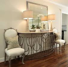 mirror and table for foyer. Mirror Create Impact With Console Tables In The Entry Artisan Crafted Popular Of Foyer Table And For I