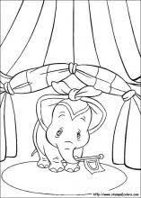 Disegni Di Dumbo Da Colorare