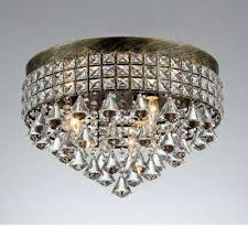 melly 3 light bronze indoor crystal chandelier with shade