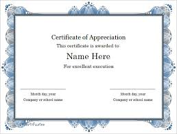 Sample Certificates Templates Word Certificate Template 49 Free Download Samples Examples