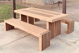 simple picnic table plans 2x4 outdoor