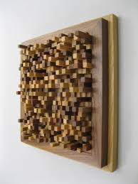 modern wood wall hanging sculpture  off at checkout
