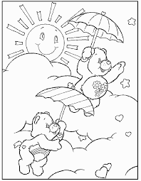 Small Picture Care Bears Coloring Pages 1 Coloring Kids