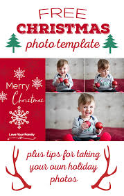christmas free template free christmas photo template the best ideas for kids