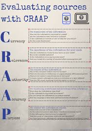 Craap Test Pernillas English Classroom Sway About The Craap Test