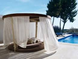 Round Outdoor Bed Marvelous Outdoor Round Canopy Beds Liberty Interior Cool