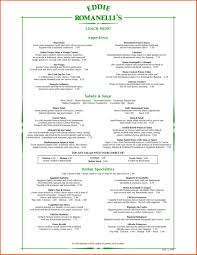 free word menu template free for authorizationlettersorg free free restaurant menu template