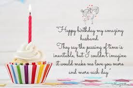 happy birthday my amazing husband