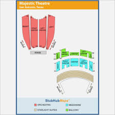 Majestic Theatre San Antonio Tx Seating Chart Paramount Theater Seattle Map Maps Template Sample