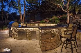 outdoor kitchen lighting ideas. Modern Outdoor Kitchen Lighting Set By Laundry Room Photography Ideas R