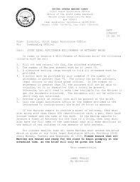 Will Poa Brief Letter Doc
