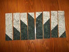 Delectable Mountain Quilt Block Layout by Janice Elaine Sews ~ A ... & Delectable Mountains Quilt Block Adamdwight.com