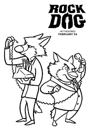 Small Picture Free Rock Dog Coloring Pages Mommy Mafia