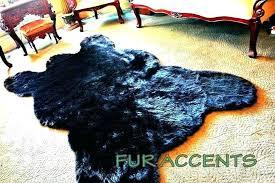 elegant faux bear skin rug and faux bear skin rug with head faux bear skin rug