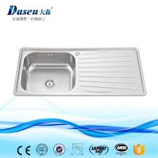 pressing sink single bowl with drain board series pressing single bowl kitchen sink with drain board