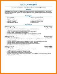 Warehouse Resume Sample 60 warehouse resume sample quit job letter 50
