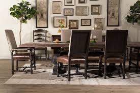country dining room chairs lovely hill country bandera brown 86 table