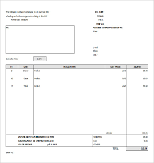 Purchase Order Templates Free Purchase Order Templates 17 Free Sample Example Format