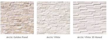 natural stone veneer panels of diffe types arctic golden panel arctic white arctic