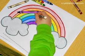 Small Picture Kid Color Pages for St Patricks Day