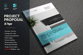 It Proposal Template Word Proposal Brochure Templates Creative Market 15