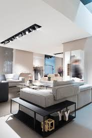 modern retail furniture. modern retail space designed with fenix ntm super matte surfaces furniture o