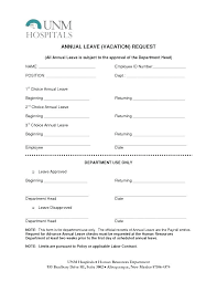 Annual Leave Application Form Template – Voipersracing.co