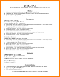 Examples Of Additional Information On Resume Chicagoredstreak Com
