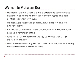 women in jane eyre 2 women in victorian era