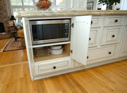 8 of our favourite kitchen island design ideas microwave in