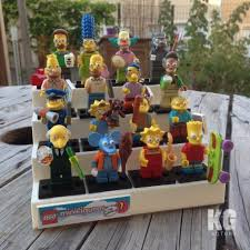 Lego Minifigure Display Stand